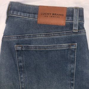 LUCKY BRAND mid-rise straight jeans
